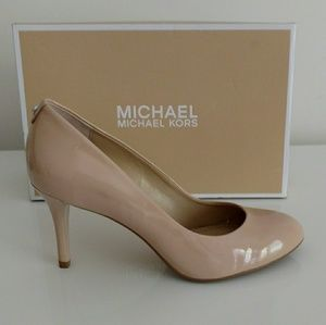 Shoes - MICHAEL Michael Kors Tan Patent Pump
